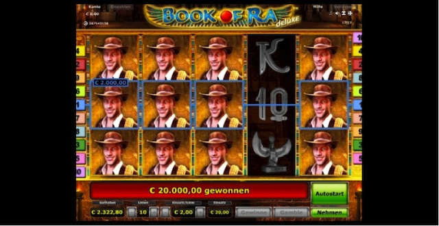 online casino betrug wie funktioniert book of ra